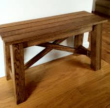 Rustic Wooden Bench Small Rustic Wood Bench Home Design Ideas