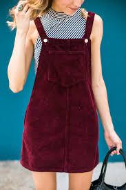 cord pinafore dress dani austin style pinterest cord
