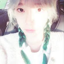 cut before dye hair taeyeon tells about dyeing her hair before cut k pop amino