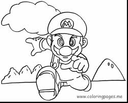 magnificent new super mario bros coloring pages with mario bros