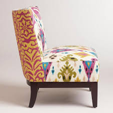 Printed Chairs Living Room by 20 Inspiringly Charming Blue Living Room Chairs Captains Chair