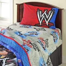 Wrestling Ring Bed by Wwe Champion Sheet Set