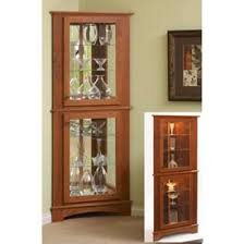Curio Cabinets Shelves Corner Curio Cabinet Woodworking Plan From Wood Magazine