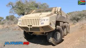 paramount marauder mbombe 6х6 high mobility armoured fighting vehicle for south