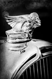 1927 buick goddess ornament photograph by reger 1927