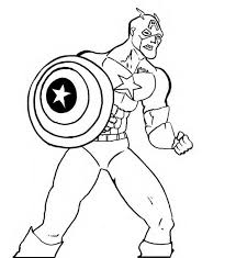 printable 36 captain america coloring pages 2252 captain america