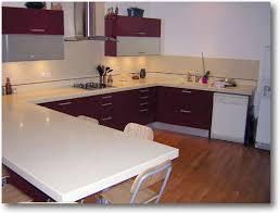 modele de cuisine en u modele cuisine forme u idée de modèle de cuisine