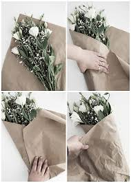 paper wrapped flowers 3 easy ways to wrap flowers