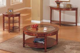 glass top end table with drawer espresso piece coffee table set elliptical glass top with stone mosaic photo
