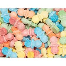 pacifier shaped candy baby pacifier sweet candy 2lb bag candywarehouse