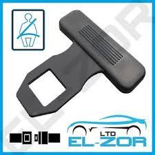 clip ceinture siege auto car seat belt blank warning alarm buckle key clip stop buzzer beeper