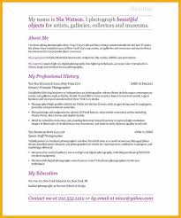 cover letter for photography personal statement medical