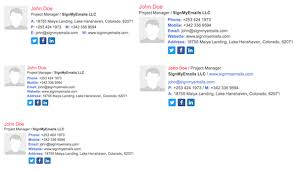 html email signature generator create email signature