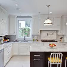 white kitchen cabinets with taupe backsplash taupe subway tile kitchen ideas photos houzz