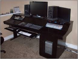 Recording Studio Layout by Home Recording Studio Desk Layout Decorative Desk Decoration