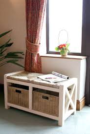 narrow hallway bench storage best house design view home decor