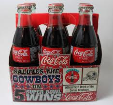 Images Of Coke Coca Cola Coke Salutes The Cowboys 5 Super Bowl Wins 6 Pack