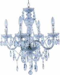 Clear Acrylic Chandelier Amazing Deal On Park Lighting Pmc 6604 Cl 4 Light Clear