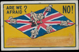 British Flag Ww1 British Wwi Propaganda Poster Vexillology