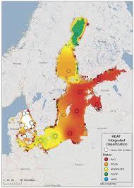 sea of map helcom powers up baltic sea map service arcnews