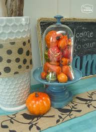Home Made Fall Decorations Fall Diy Challenge Archives The Happy Housie