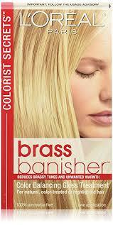 ultra glaze for hair amazon com l oréal paris colorist secrets brass banisher color