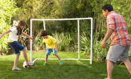 Backyard Play Area Ideas Backyard Soccer Nets Pugg Portable Backyard Soccer Goals Pair
