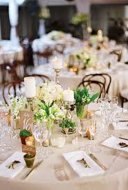 White Rose Centerpieces For Weddings by Modern Posy With Protea And Cabbage Wedding Flower Photos