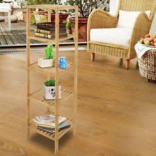 Floor Storage Cabinet Bamboo Bath Storage Cabinets Ebay