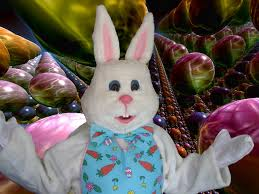 big easter bunny the easter bunny hop to your next event just plain