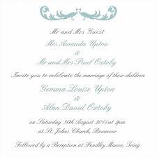 Wedding Invitations In Spanish Wedding Invitation Verbiage Samples Invitation Wording Bride And