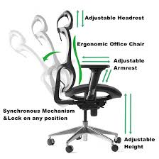 amazon desk and chair chair ergonomic office chair amazon amazon com winmi mesh