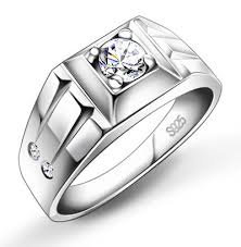 silver ring for men 925 sterling silver men s ring fashion supreme ring ring