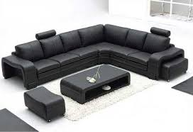 Cheap Black Leather Sectional Sofas Black Leather Sectional Sofa For Home Exist Decor