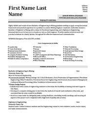 Voice Engineer Resume Drilling Engineer Sample Resume Haadyaooverbayresort Com