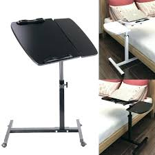 Under Tv Table Portable Adjustable Laptop Desk Computer Table Stand Tray Sofa Bed