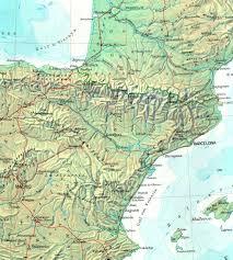 Iberian Peninsula Map Eduard Imhof Atlases 2