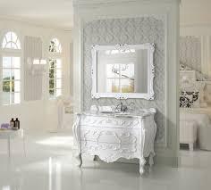 antique 47 inch single sink bathroom vanity natural marble top