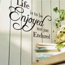 Home Decor Vinyl Wall Art by Life Inspiration Quotes Wall Sticker Sayings And Phrase Wall Decal