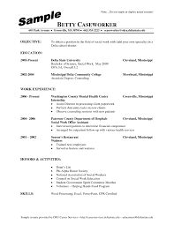 resume sample for social worker examples of resumes resume 10 best good accurate effective 87 astonishing resume examples free of resumes