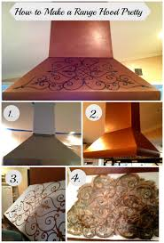 vent hood over kitchen island decor copper island range hoods with rivet bands for kitchen