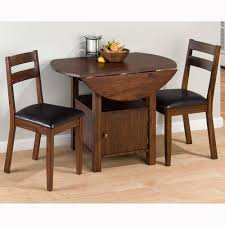Kitchen Table For Small Spaces Dining Room Brilliant Rectangular Small Drop Leaf Table Set Decor