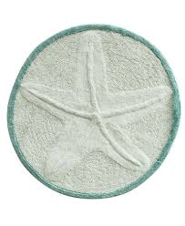 bacova accent rugs bacova starfish cotton 25 round accent rug rugs macy s