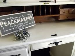 Contact Paper Desk Makeover The Olde Farmhouse On Windmill Hill Desk Makeover How To Update