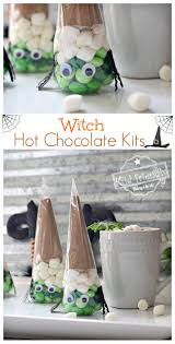 fun and easy witch chocolate kit idea for a kid u0027s halloween