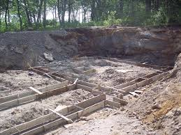 building a house in kent footing forms