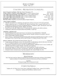 teaching resume templates awesome education resume templates physical education