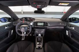 peugeot 208 gti inside peugeot 308 gti facelift 2017 review by car magazine