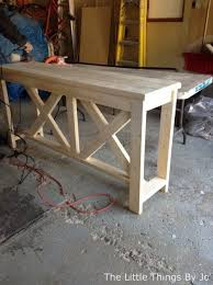 Diy Console Table Best 25 Rustic Console Tables Ideas On Pinterest Console Table