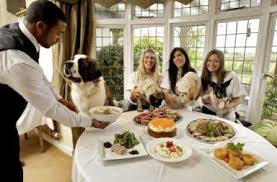 Dogs At Dinner Table Dog Friendly Restaurants U0026 Cafes Archives Dogbuddy Blog